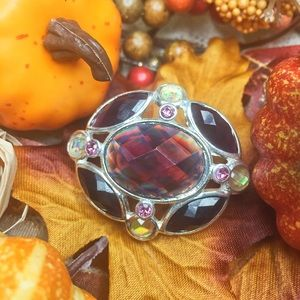 Mulled cider autumn fairy brooch